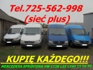 Kupię mercedesa Sprintera 208 210 212