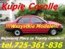 Kupię Toyotę Avensis I i II Kupie toyota avensis I lub II Sk