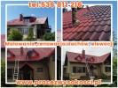 Malowanie ,renowacja dachów, elewacji