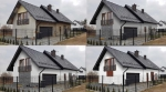 Projekt elewacji / wizualizacja domu
