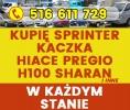 Skup Sprinter Kaczka Hiace Pregio H100 Vario Hilux